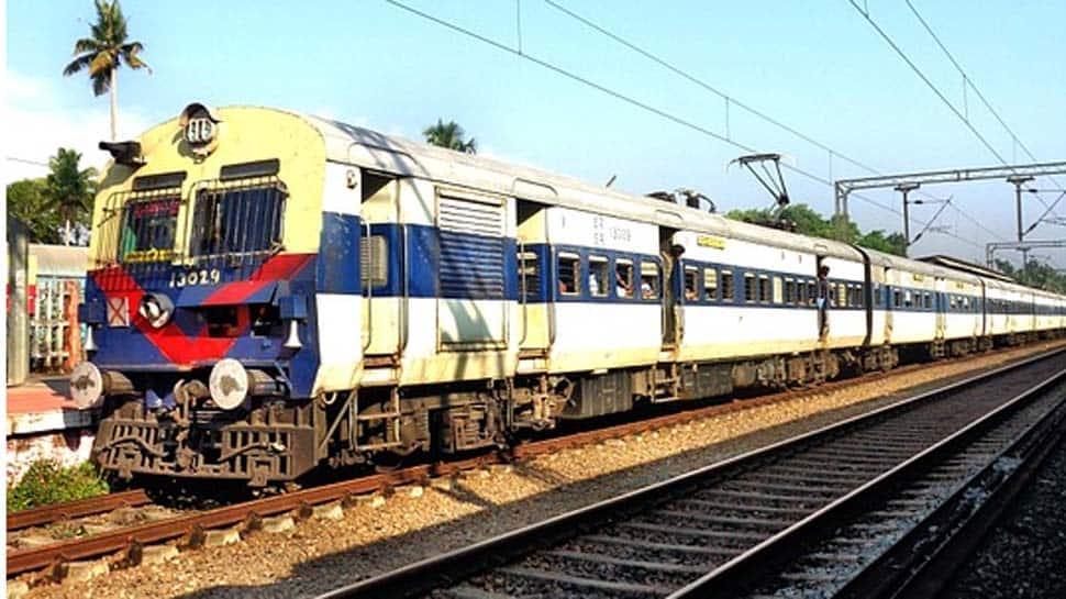 Uttar Pradesh: Local passenger train derails at Ghaziabad Railway Junction