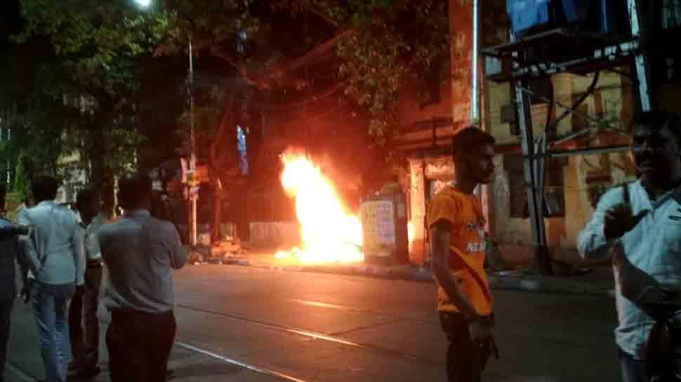 Kolkata Police SIT to probe Ishwar Chandra Vidyasagar bust vandalism