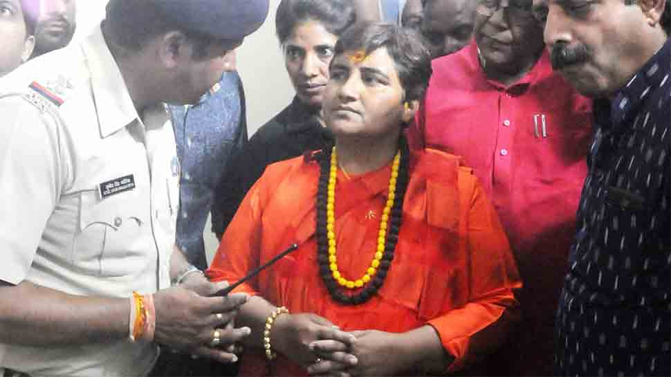 Sadhvi Pragya apologises for 'Godse patriot' remarks, says 'BJP line is my stand'