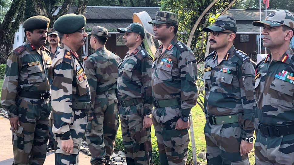 Eastern Army Commander Lieutenant General MM Navarane tours border areas of Arunachal Pradesh