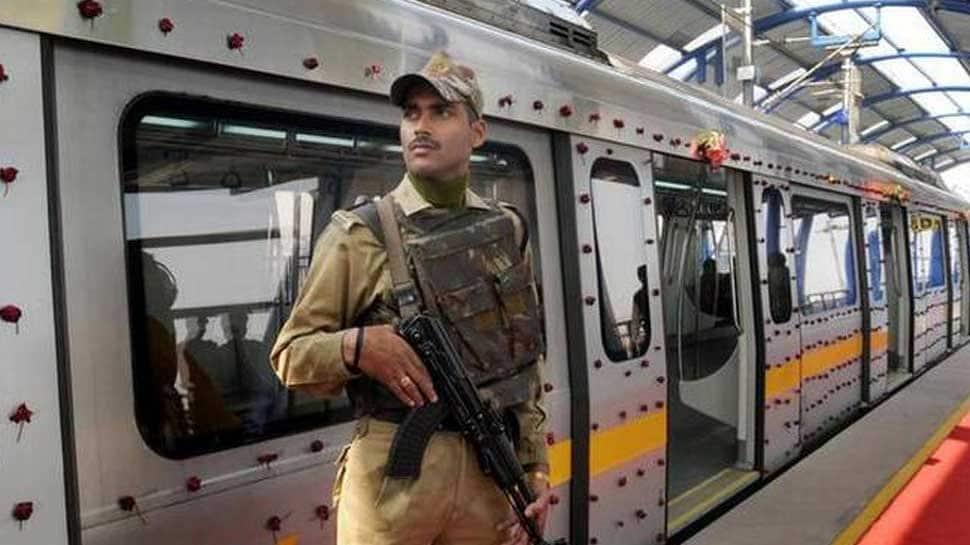 Teenager arrested for carrying 5 live bullets at Delhi Metro station
