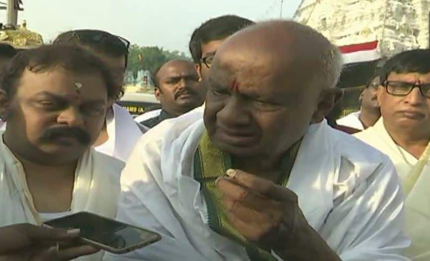 JD(S) will support Congress in stopping BJP from coming back to power: HD Deve Gowda