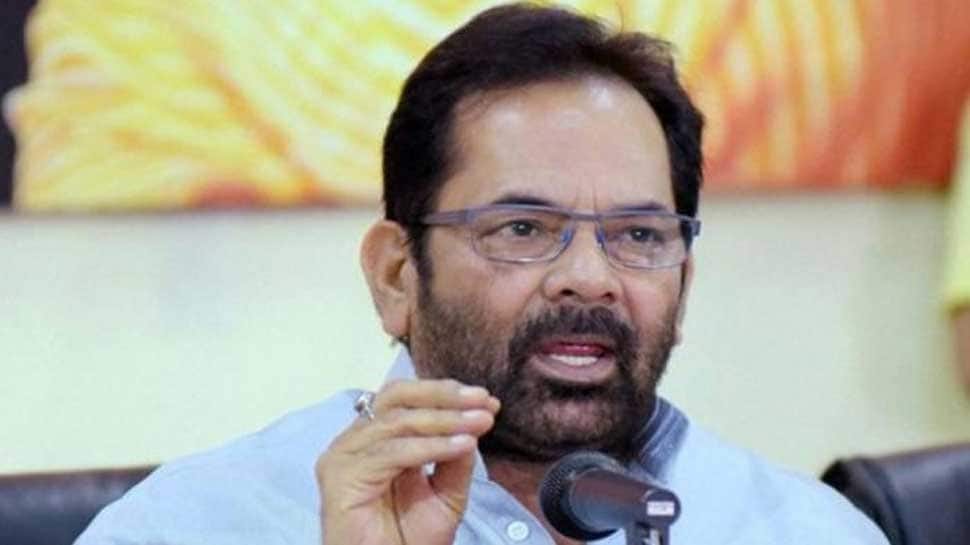 Fabricated stories being created against Narendra Modi, Amit Shah: Mukhtar Abbas Naqvi