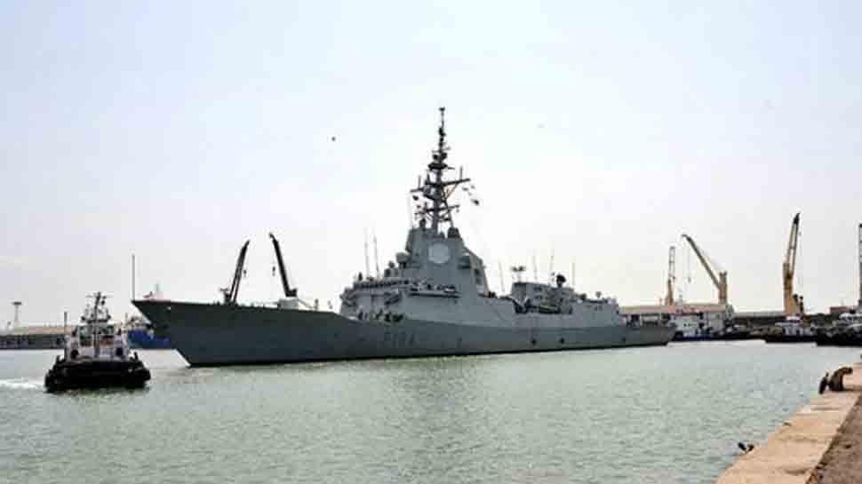 Spanish Naval ship on Mumbai visit