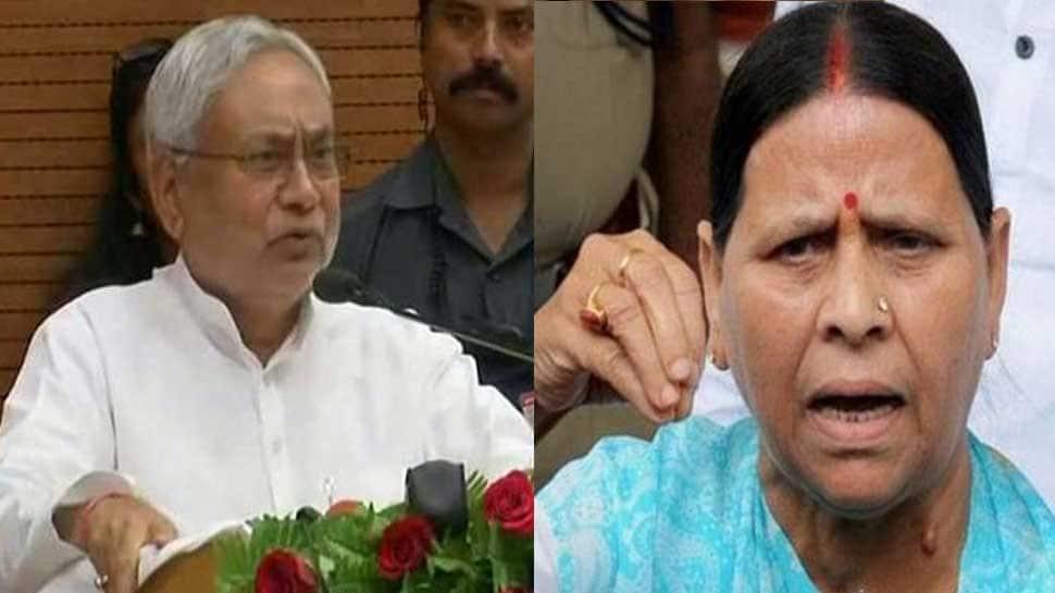 Rabri Devi jabs Bihar CM Nitish Kumar over Sadhvi Pragya Thakur's statement
