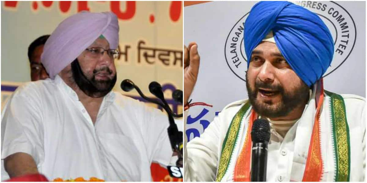'Ambitious' Navjot Singh Sidhu wants to become next Punjab CM: Amarinder Singh