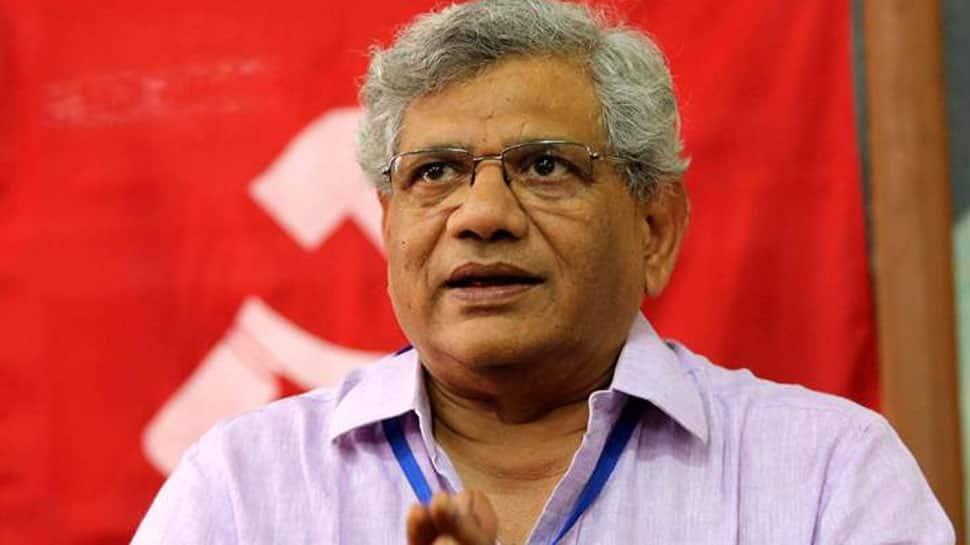Sitaram Yechury meets Rahul Gandhi, Chandrababu Naidu; discusses post-poll scenario