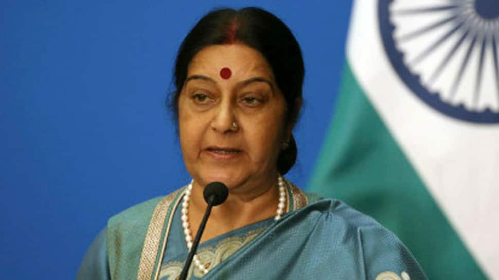 Sushma Swaraj to visit abroad on Tuesday, her last as External Affairs Minister under present government