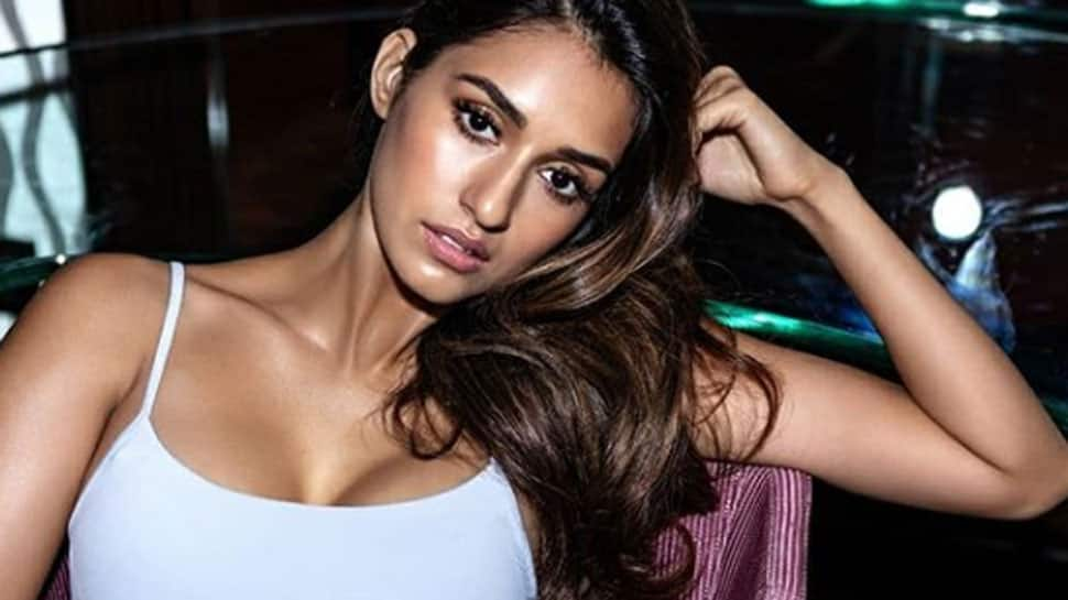 Disha Patani sizzles in a black Calvin Klein lingerie, shares latest pic
