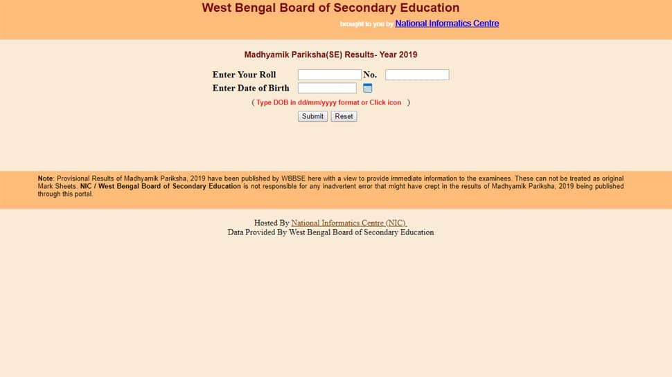 WBBSE Madhyamik Result 2019 out! West Bengal Board declares Class 10 result at wbresults.nic.in