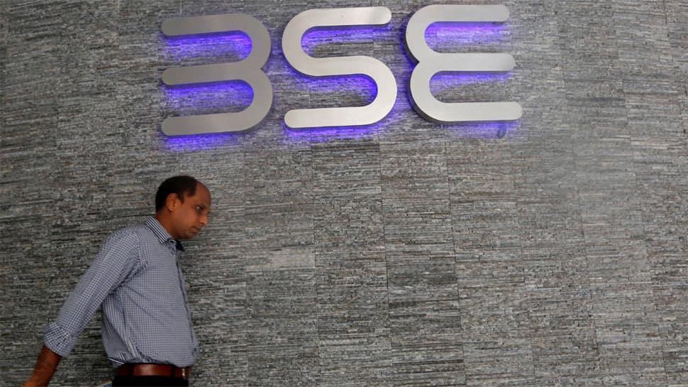 Indices off record highs; Sensex slumps 383 points on profit booking