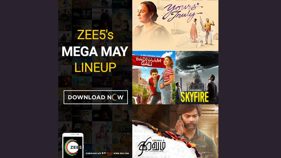 ZEE5 lines up mega May for global viewers with Skyfire, Yours Truly, Thiravam and more