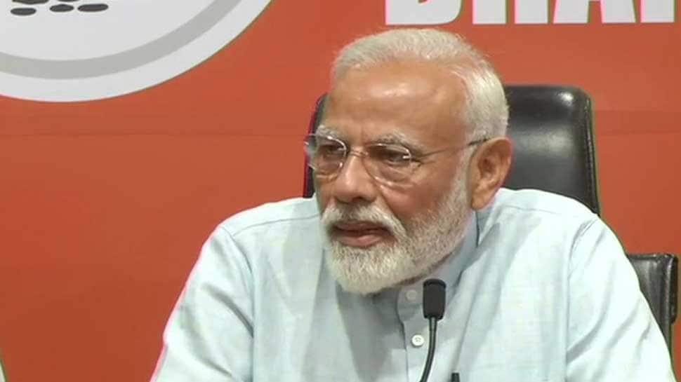 PM Narendra Modi says 2019 election was like a 'pilgrimage', thanks NDA allies for good work