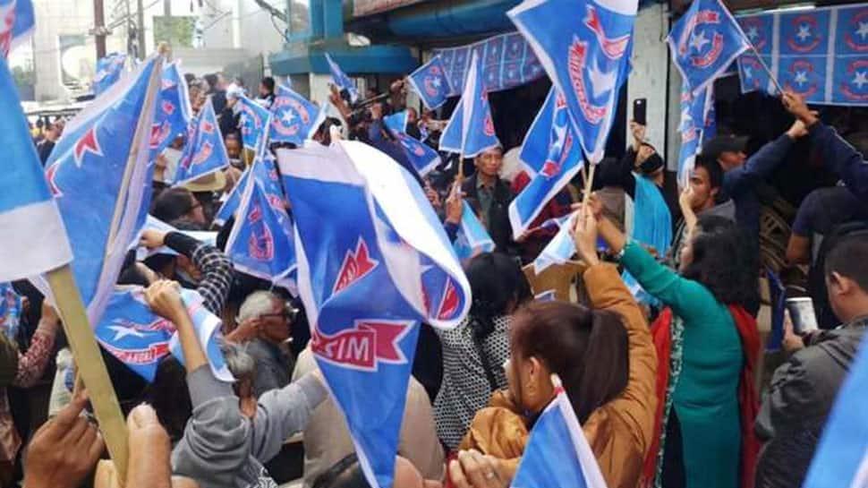In Mizoram, ruling Mizo National Front leads in lone Lok Sabha seat
