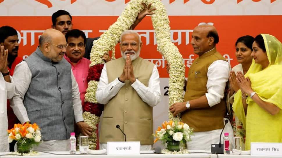 Lok Sabha election 2019: BJP leaders hail Narendra Modi wave, calls it day of great pride