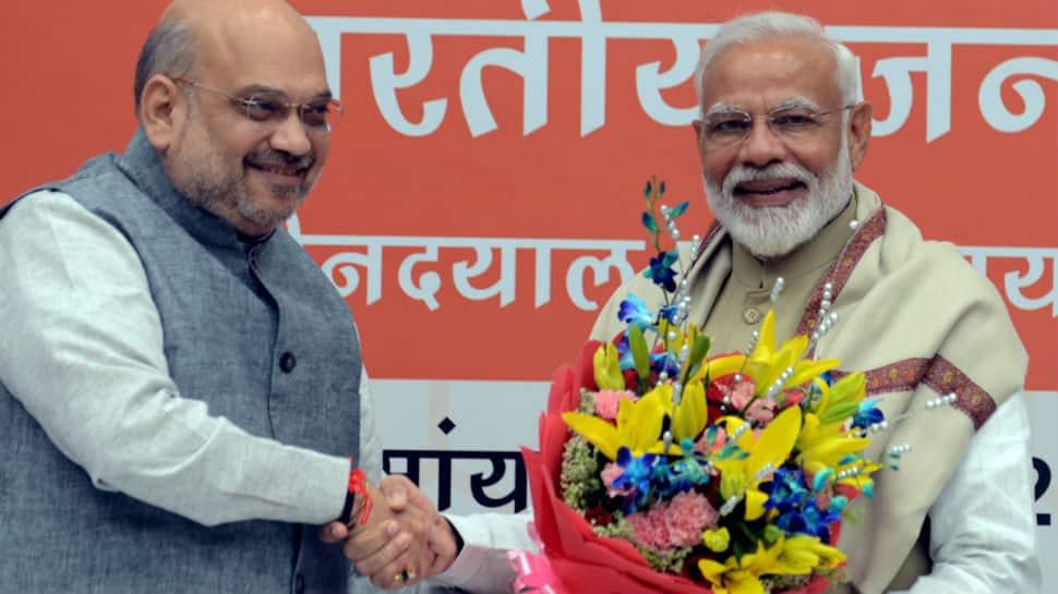 BJP repeats 2014 sweep in Gujarat, pockets all 26 seats; Amit Shah's debut from Gandhinagar a hit
