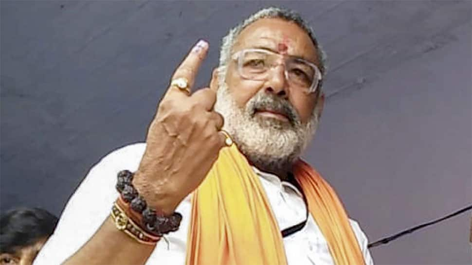 Giriraj Singh credits Modi, Lord Mahadev, people of Begusarai for thumping majority