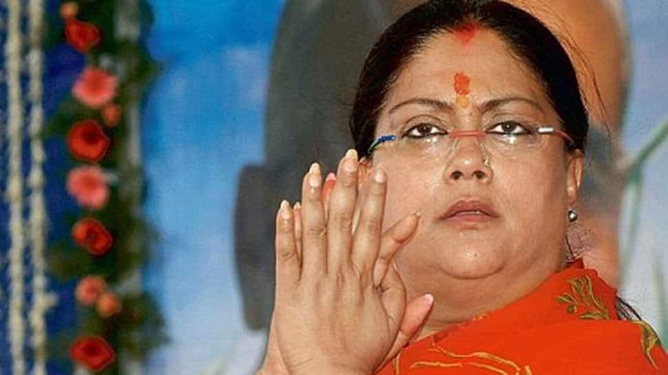 'Vasundhara Raje trying to mend ties with BJP leadership'