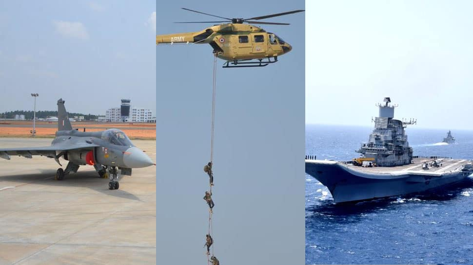 Fighter jets, submarines, carbines: The wish list of IAF, Navy and Army
