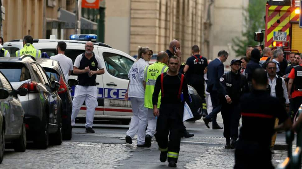 Suspected bomb blast injures 8 people in France's Lyon