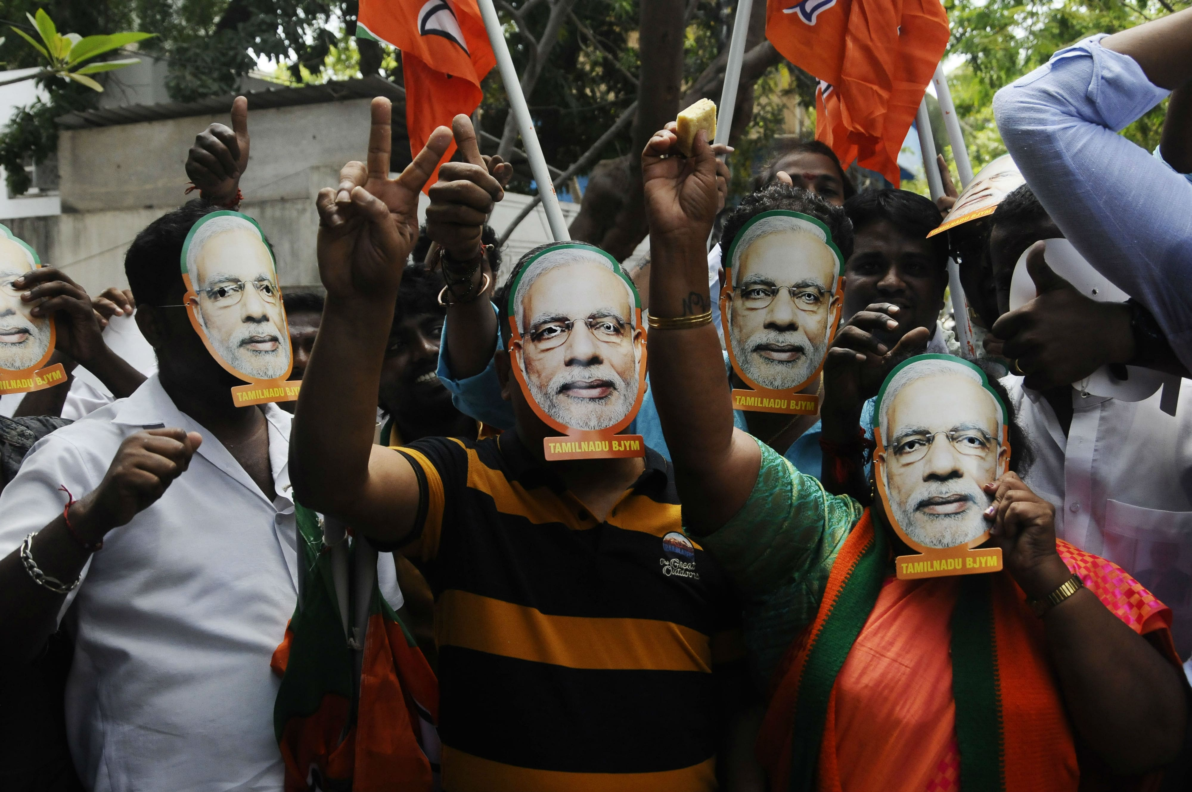 BJP's vote share in Haryana surges with victory on 10 seats
