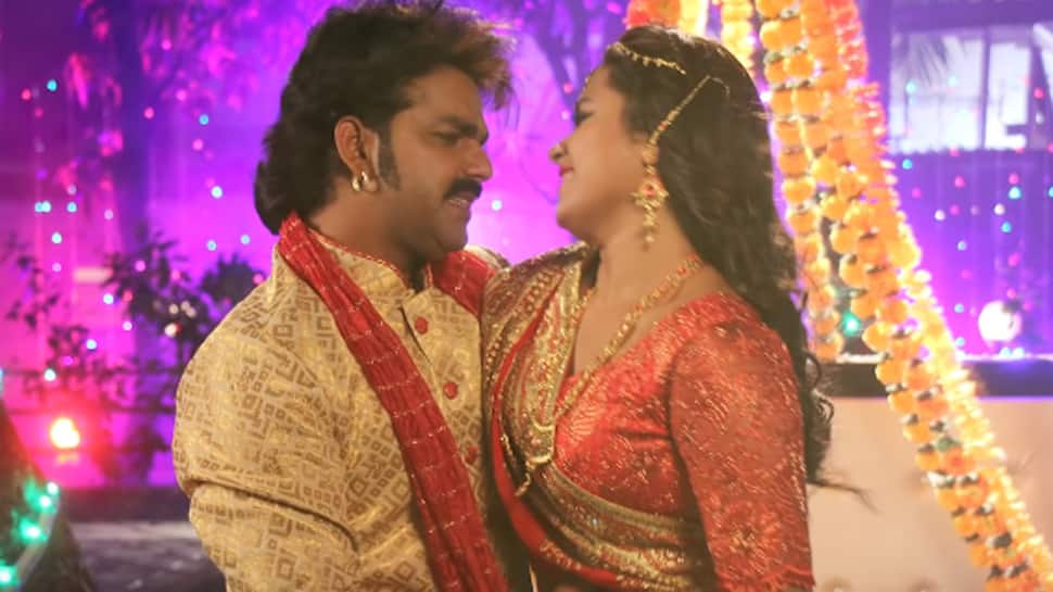 Pawan Singh's new song  'Balamua Ke Gaon Mein' crosses 2 million views