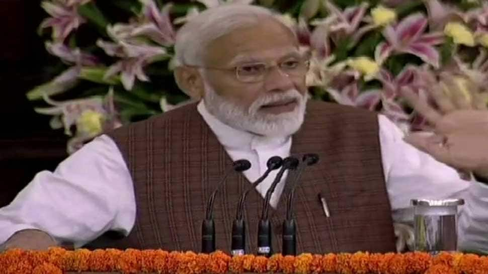 Don't believe in rumours, shun VIP culture: PM-elect Narendra Modi tells NDA MPs