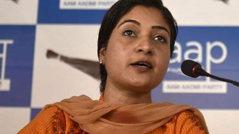 Alka Lamba again removed from AAP's MLA Whatsapp group