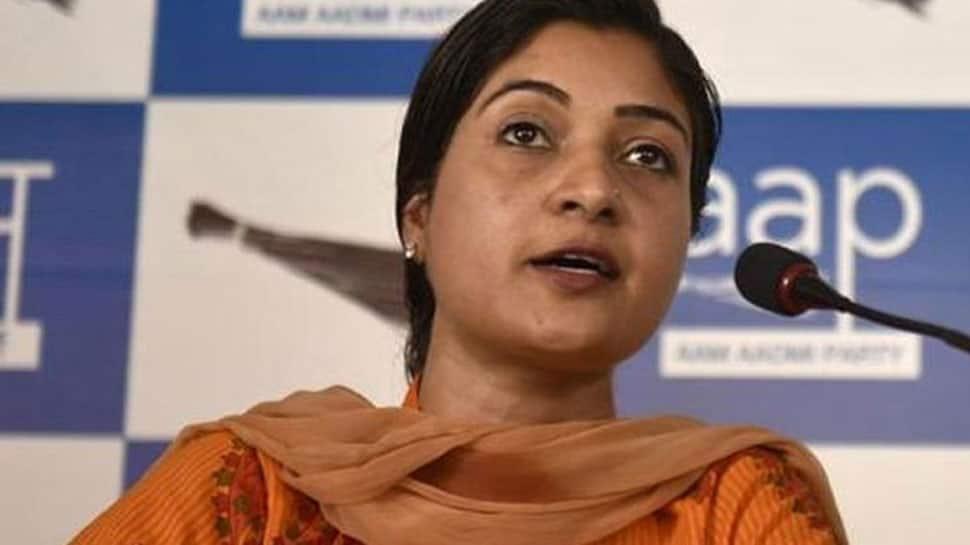 Alka Lamba again removed from AAP's MLA Whatsapp group
