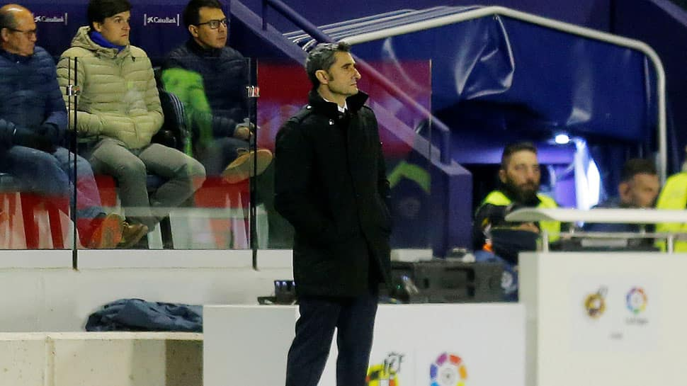 Ernesto Valverde vows to carry on as Barcelona's season fizzles out