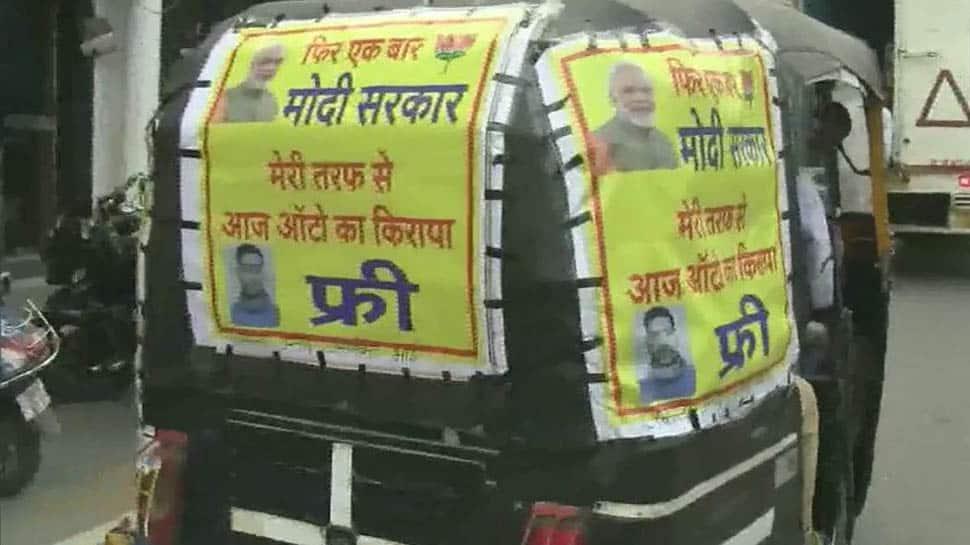 Uttarakhand: Auto driver celebrates PM Narendra Modi's massive win by offering free rides