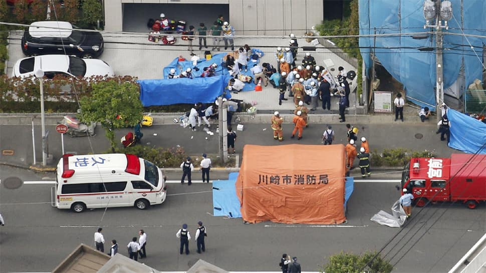 School girl killed, at least 12 others injured in stabbing at Japan bus stop
