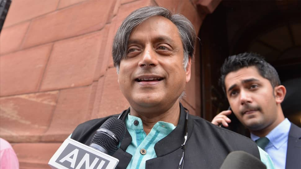 Ready to be Congress leader in Lok Sabha if offered the job: Shashi Tharoor