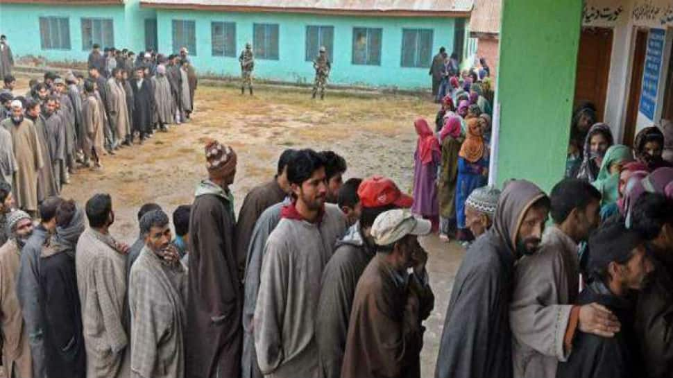 In terror-hit Tral, BJP registers stunning lead for the first time ever