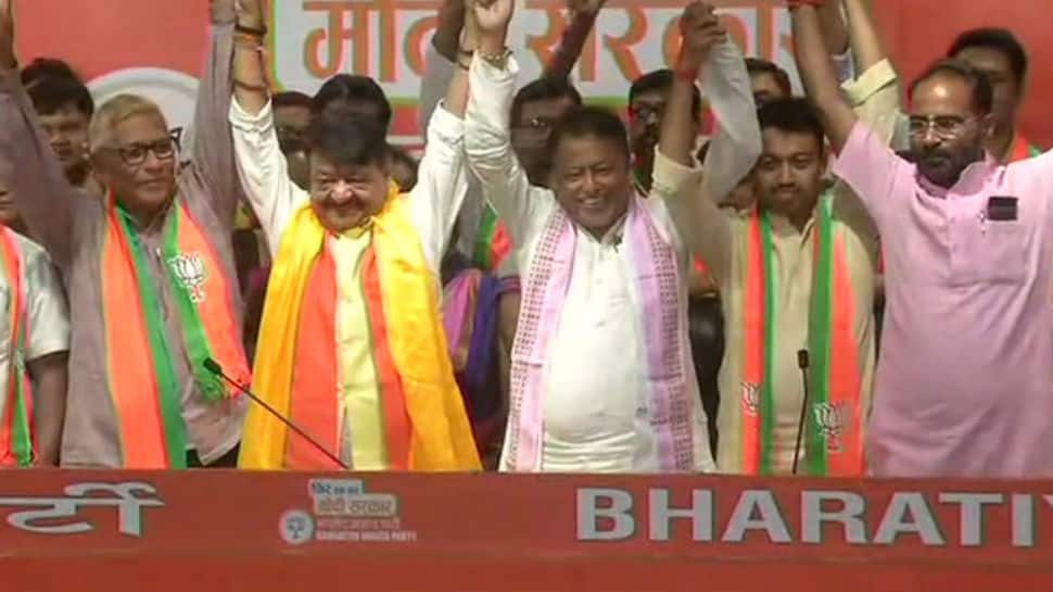 Political upheaval in West Bengal as three MLAs switch to BJP