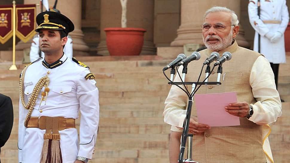 Narendra Modi's oath ceremony: Four Presidents, three PMs in attendance at Rashtrapati Bhavan