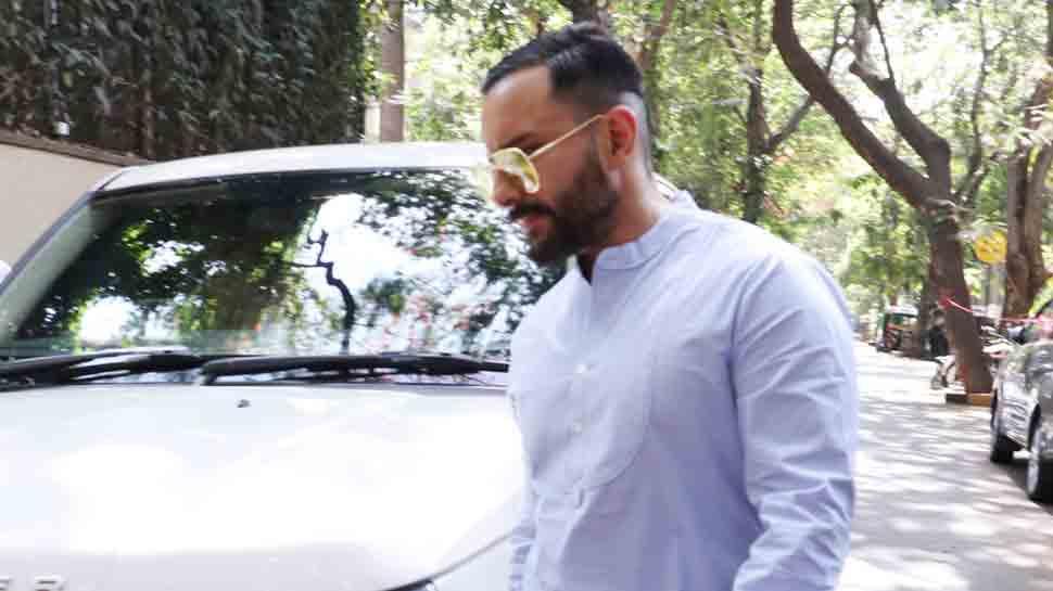 Saif Ali Khan spotted with new hairdo. Is this his Jawaani Jaaneman look?