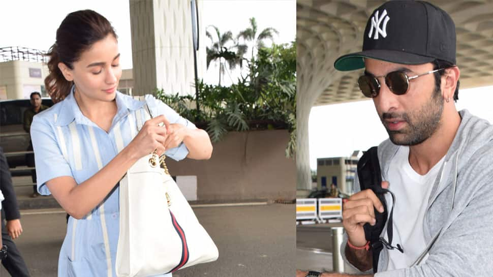 Ranbir Kapoor-Alia Bhatt clicked together at airport—See pics