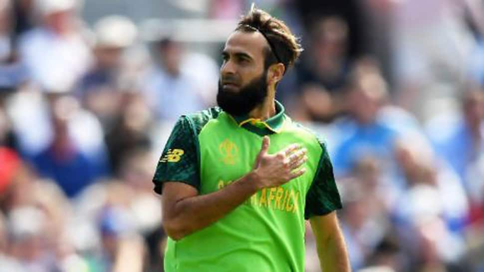 South Africa's Imran Tahir becomes first spinner to bowl 1st over in ICC World Cup opener