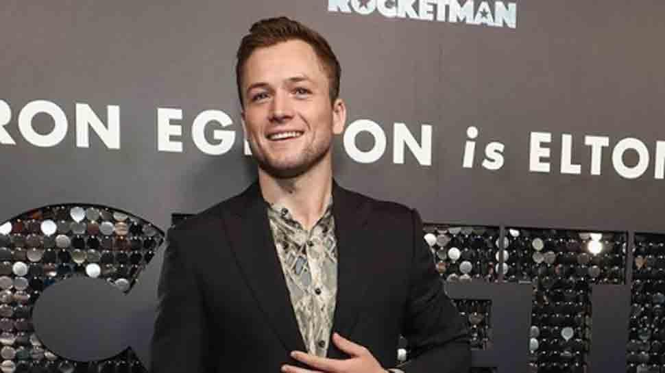 Taron Egerton shares about his transformation process for Rocketman