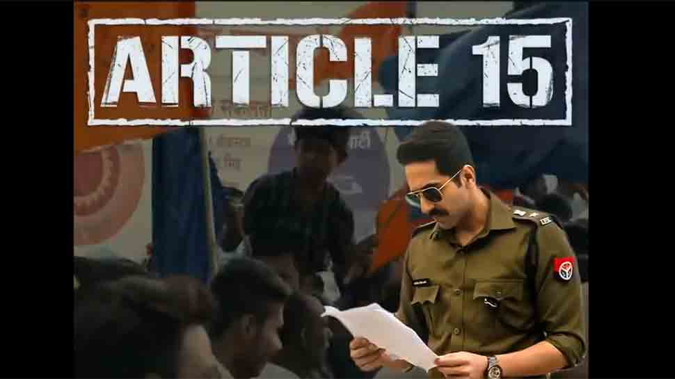 Ayushmann Khurrana's Article 15 trailer look promising, gripping, exciting — Watch