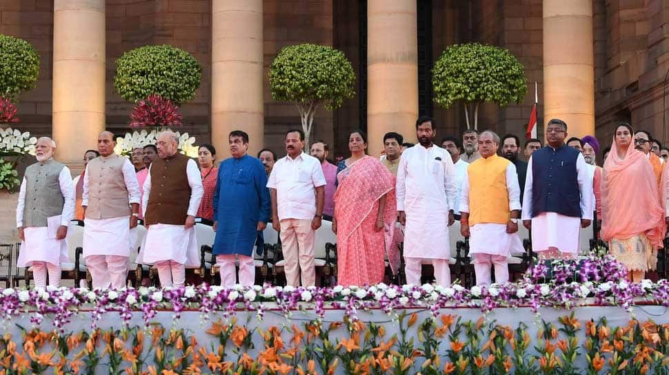 State-wise representation in Narendra Modi Cabinet; UP 9, Maharashtra 8, none from Andhra Pradesh