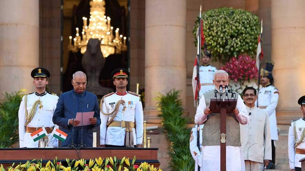 Honoured to serve India, will work for country's progress: PM Narendra Modi