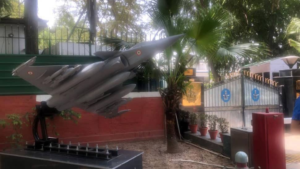 Rafale jet's replica erected outside IAF chief BS Dhanoa's residence