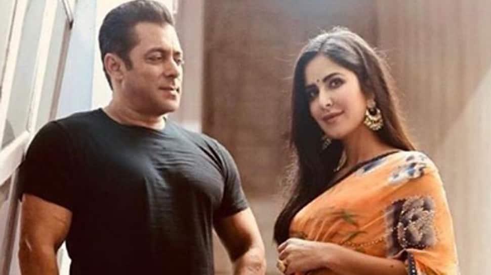 Salman Khan strikes a pose with 'Bharat' co-star Katrina Kaif—Pic