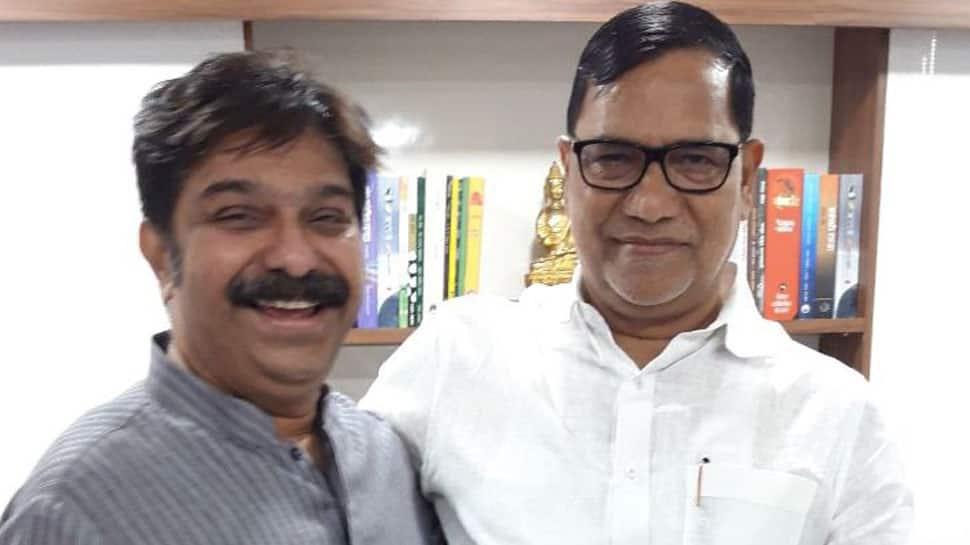 Maharashtra Congress leader Kripashankar Singh meets BJP's Prasad Lal, fuels speculation