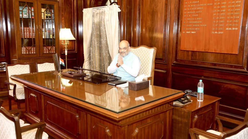 On Day 1, Amit Shah chairs crucial Ministry of Home Affairs meet