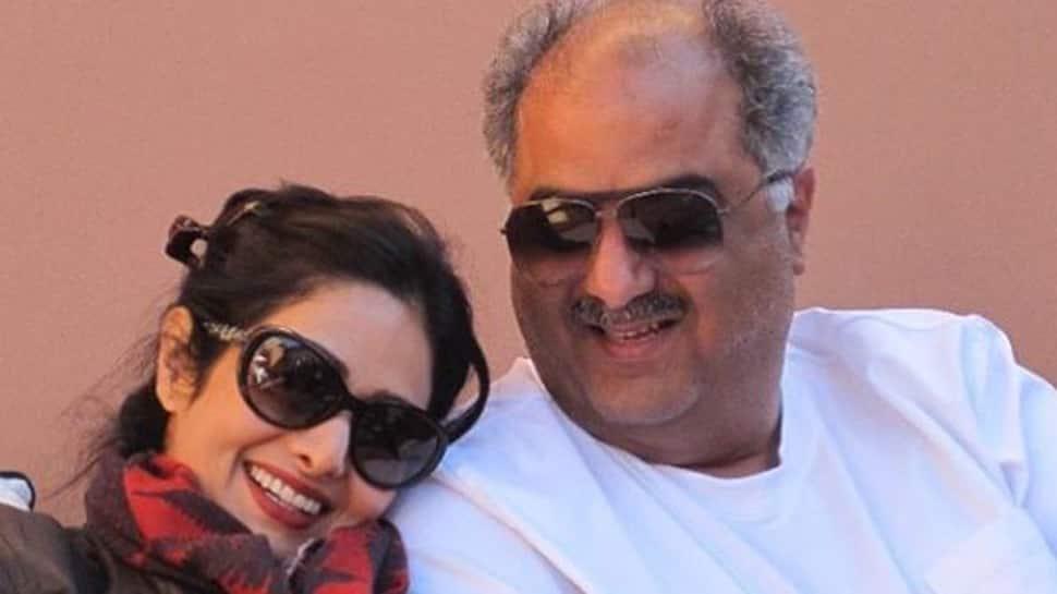 Janhvi Kapoor shares a love-filled picture of Sridevi-Boney Kapoor