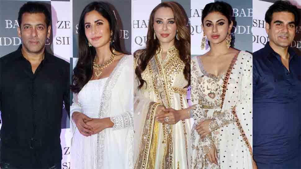Salman Khan, Shah Rukh Khan, Katrina Kaif, Iulia Vantur attend Baba Siddiqui's Iftar party — Pics