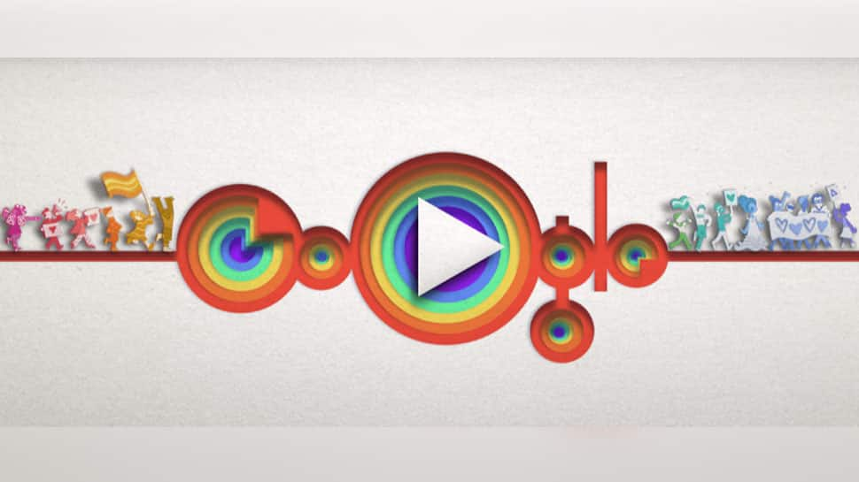 Google Doodle celebrates 50 years of LGBTQ pride with interactive video